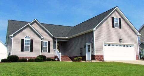 Greenville home for sale 635 alexandria ln winterville for Hardwood floors greenville nc