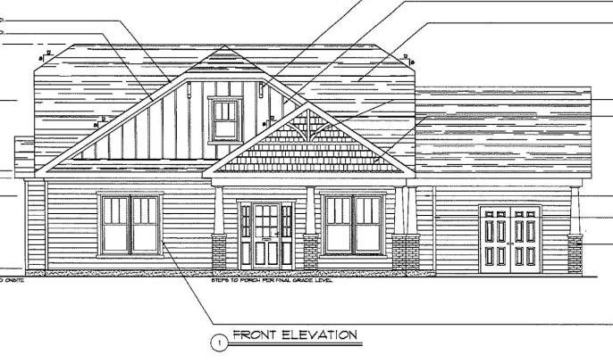Front Elevation With Granite : New construction in willow run beds baths sq ft